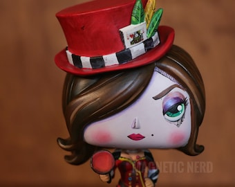 Mad Moxxi in Red Custom Painted Funko Pop