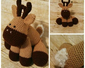 Deer, Deer Decor, Deer Plush, Deer Baby Shower Gift, Stag, Handmade Fawn, Baby Deer Plush, Woodland Nursery, Cute Deer Stuffed Animal