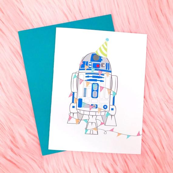 R2d2 birthday card bookmarktalkfo Choice Image