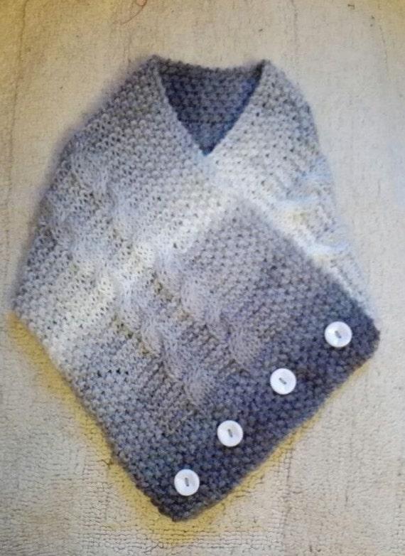 Knitting Pattern Easy Collar Scarf