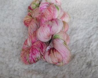 Through The Garden Hand Dyed Sock yarn