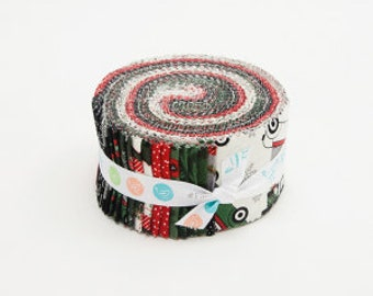 Christmas Delivery Jelly Roll - Carta Bella - 40 pieces