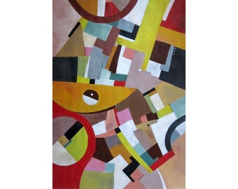 Abstract painting entropy M4
