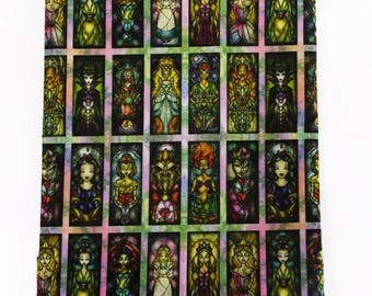 vitral characters fabric