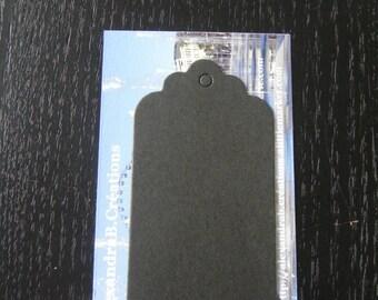 Black labels: 15 labels 7 x 4 cm