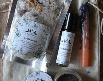 Lord Ganesh Spiritual Healing Kit/Prayer/Meditation