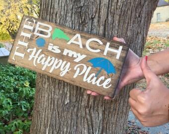 Custom Beach Wood Sign!