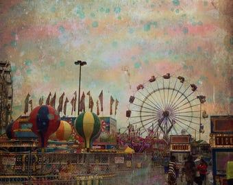 Vintage Carnival Digital Photo Download
