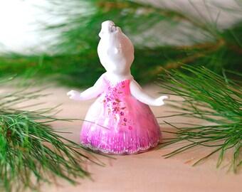 Nutcracker Ballet Ornament, Sugarplum Fairy Ornament, Pink Ballerina Ornament, Sugar Plum Fairy Ornament, Ballet gift, gift for girls