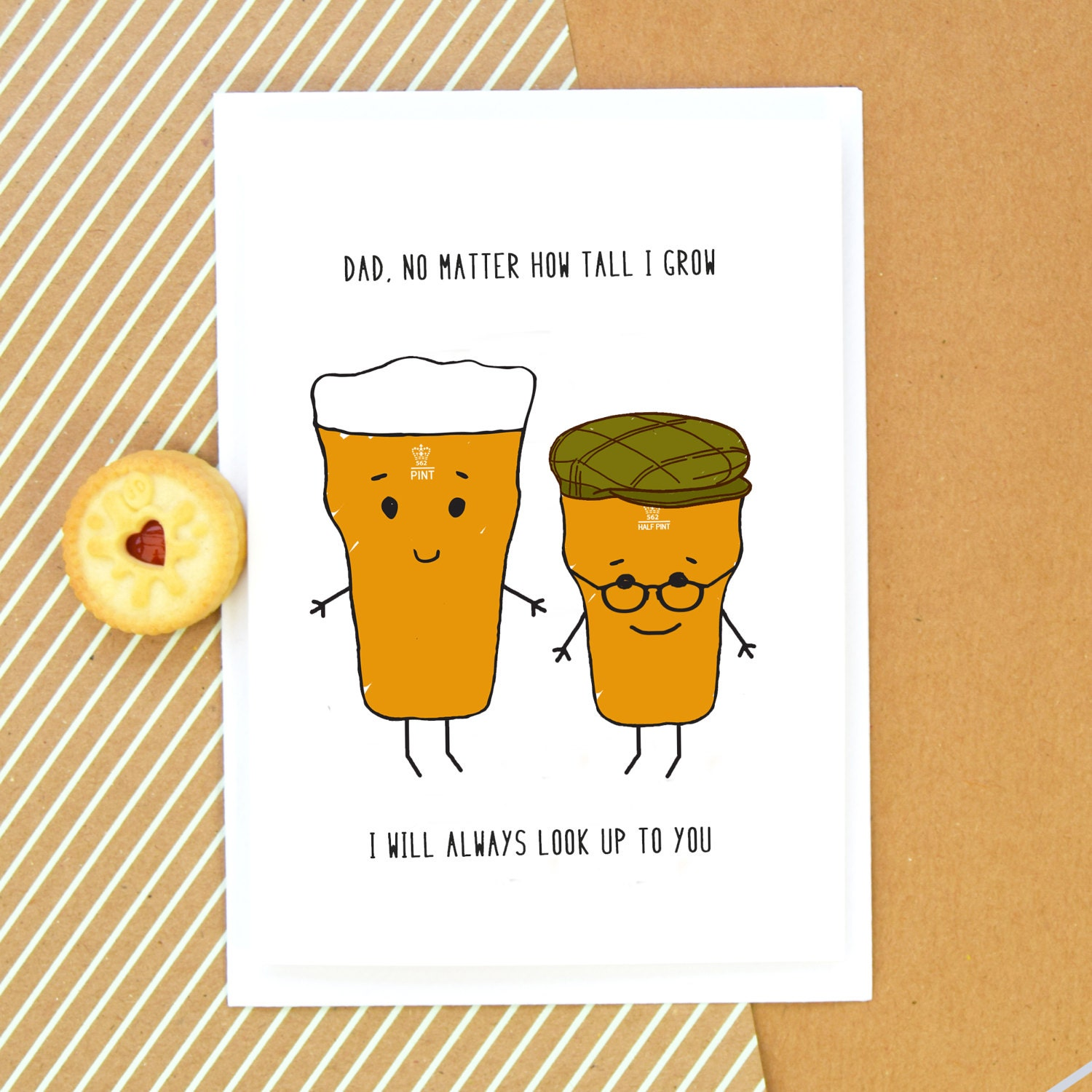 Funny Card For Dad Dad Birthday Card Father's Day Card
