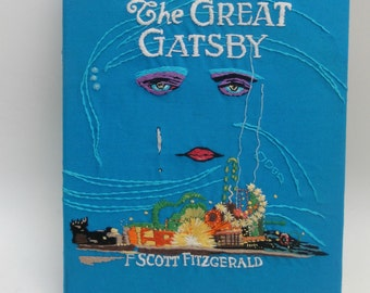 The Great Gatsby book clutch SOLD!