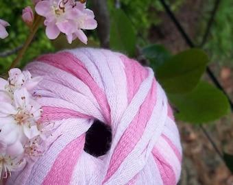 CHUNKY Weight Yarn - Rose Cotton Blend  - 50g 65 yards - Gedifra Licati - rose pink summer spring