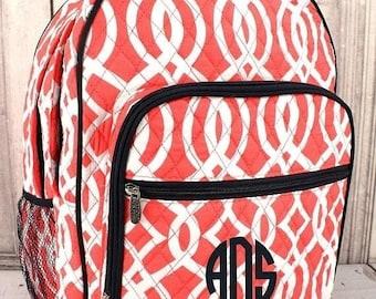 Monogram Backpack, Backpack and Lunchbox Set, Girls backpack, Monogram Backpack, Backpack Set, Back To School, Birthday Gift, Monogram Bag
