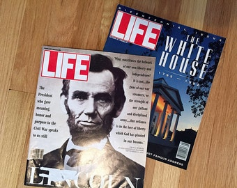 Lincoln & White House LIFE Magazine Collection