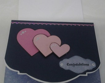 Heart Congratulations Greeting Card