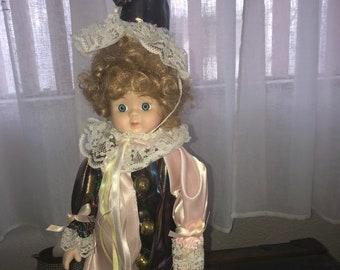 "15"" Clown Doll, Jacobs Co."