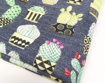 Michael Miller fabric, lovely llamas, cactus print, cactus fabric, floral cactus, studio jepson, printed cotton, cotton fabric