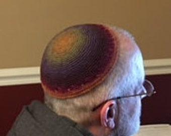 multi-colored kippah