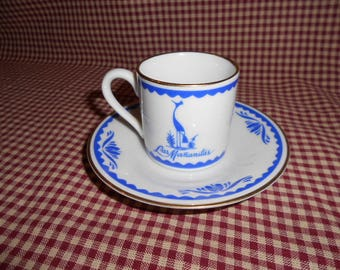 Las Mananita's Cup and Saucer Restaurant Demitasse Collection