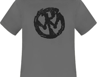 Pennywise Logo grey charcoal t shirt