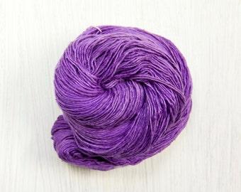 Silk Thread Lace Weight Yarn Grape