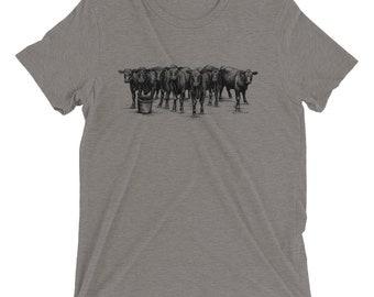 Cows Short Sleeve T-Shirt