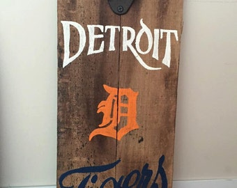 FREE SHIP Detroit Tigers Bottle Opener