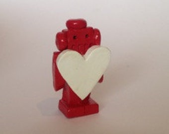 Mini valentine Ceramic Robot