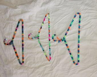 Yarn covered hangers