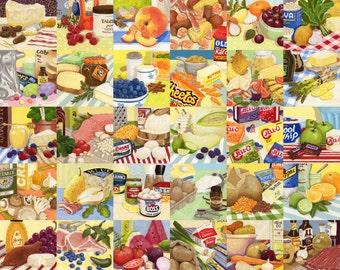 Foodie Life Print
