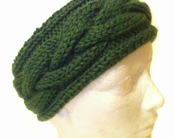 Connemara Plaited Knit Headband
