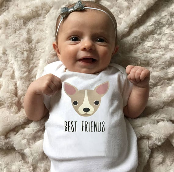Chihuahua Baby Clothes Bodysuit Romper For Baby Boy Or Baby