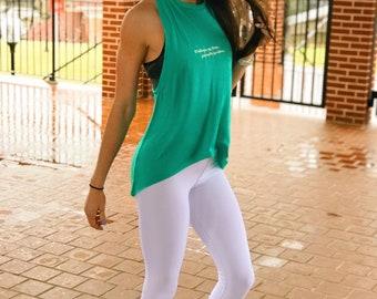 White Workout Legging -Womens Legging Yoga Pants Yoga Leggings Leggings With Pockets Gym Leggings Womens Workout Spandex - Gym Queen Apparel