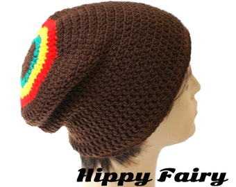 Crochet Rasta hat beanie, Rasta hat, fashion hat