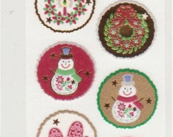 Christmas Stickers - Santa Stickers - Reference T5224