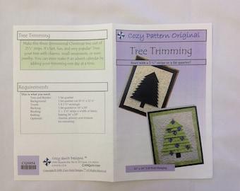 Cozy Pattern Original Tree Trimming