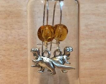 Washosaur Earrings in a Bottle Firefly Serenity T-Rex