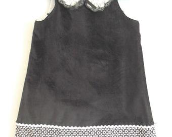 Pretty little dress winter soft T 4/5 years