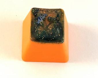 Orange keycap