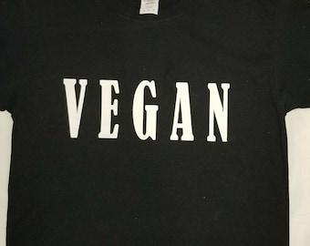 Vegan T Shirt in stock fast shipping 20.00 usd