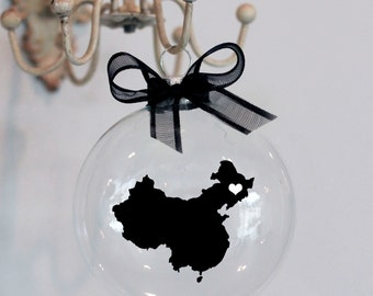 China Christmas Ornament, Custom, Adoption, travel
