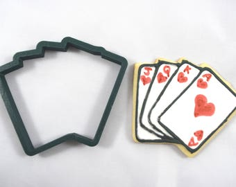 Playing Cards Cookie Cutter