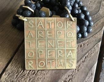 Sator square protection mala