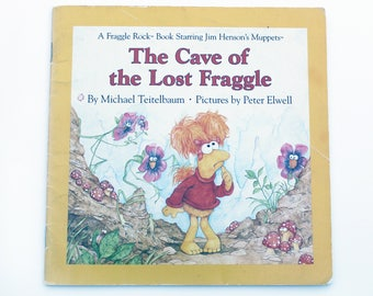 Vintage 1985 Book Cave of the Lost Fraggle Jim Henson Muppets