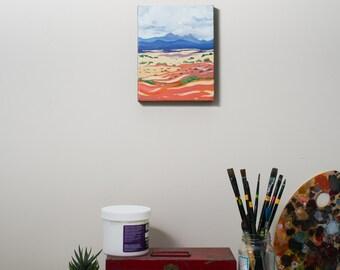 Small Painting original acrylic Painting landscape painting original art acrylic painting landscape art 8x10 Utah Art Landscape wall art