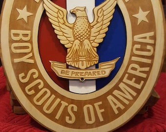 Eagle Scout wood emblem