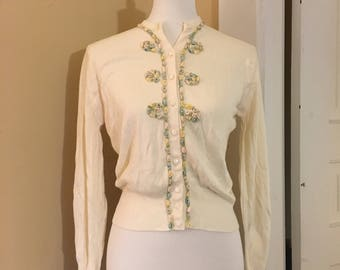 1950s Sweater - Darling Vintage Sweater
