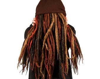 6 Thick Solid Dreads