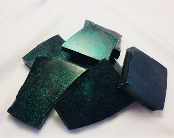 Shimmer Activated Charcoal Honey Bark Soap