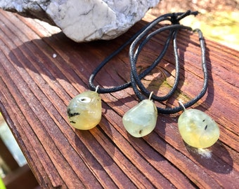 PREHNITE EPIDOTE Necklace